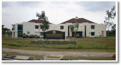 Gedung Badan Pertanahan Nasional KP3B