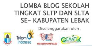 Lomba Blog Disdik Lebak 2011