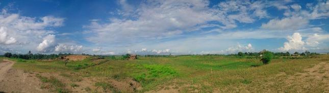 Hamparan lahan Pertanian Warga Bagedur