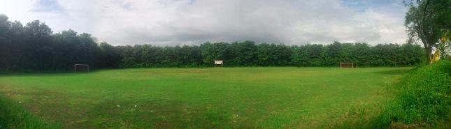 Lapangan Bola Perkebunan Karet Bagedur